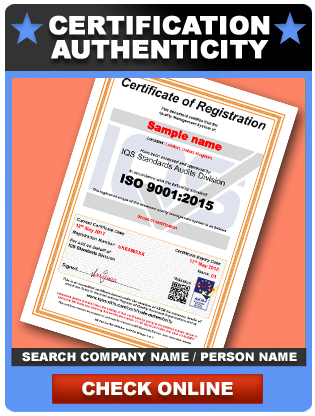 Certificate Authenticity